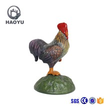 Home Decoration Metal Art And Crafts Casting Iron Animal Theme Chicken Statues