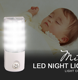BS EU Plug in dusk to dawn led sensor night light Low Energy Dusk to Dawn Sensor Cool White for kids bedroom hallway