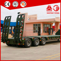 Cheap Price 4 Axle Low Bed