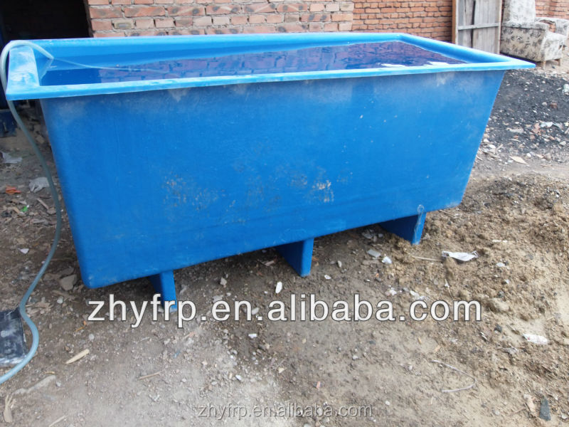 outdoor fiberglass fish tank