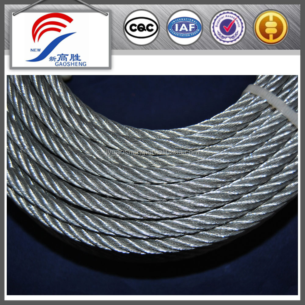 Galvanized Wire Rope Specifications, Galvanized Wire Rope ...