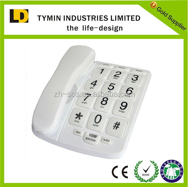 Wholesale big button hearing aid senior telephone