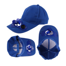 Hot selling caps with solar panel, solar fan hat