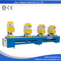 Four Head Double sides Seamless welding machine