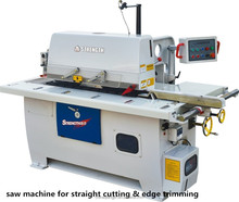 Top quality and best price saw machine for straight cutting & edge trimming ,professional 40 years for woodworking machines