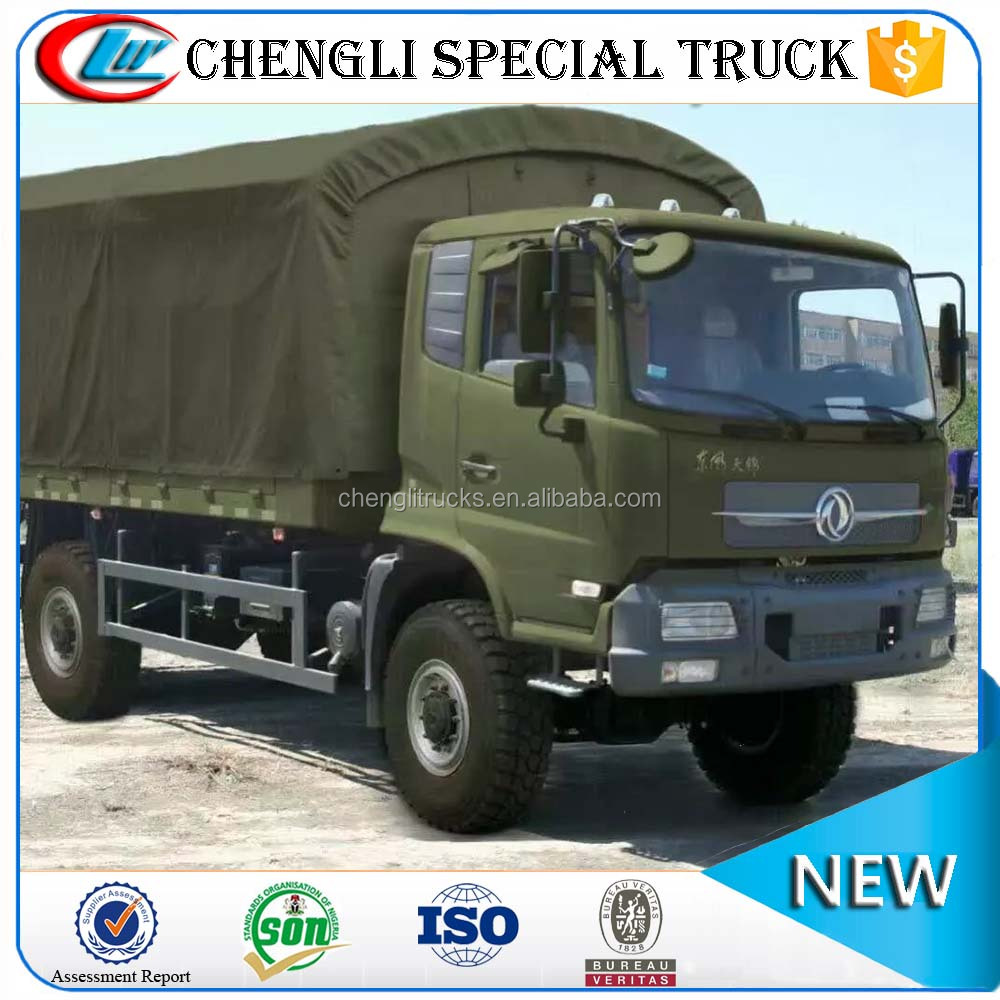 Chinese Dongfeng All-Wheel-Drive Off Road 4x4 Truck Cargo Type Truck for Sale