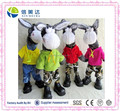 SGS Approved Music Dancing Plush Donkey/Bird/Rabbit/Cow Electric Toy