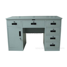 Side Drawers and Storage Cabinet Metal Teacher Desk