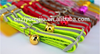 LED flashing dog collar with USB rechargeable knitted fabric 100%polyester