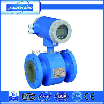 full bore magnetic water flow meter made in China