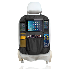 Mom's Besty Luxury Car Back Seat Organizer with Tablet Holder - Touch Screen Pocket for Android & iOS Tablets up to 10.1""