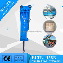 Chinese Good Price BLTB155B hydraulic Hammer,rock hydraulic hammer, hydraulic hammer suitable for 28-35 excavator