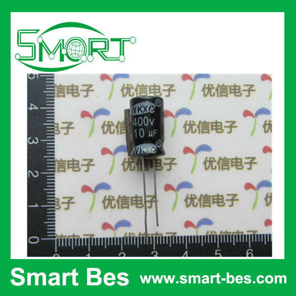 HOT~~smart bes ~! High quality electrolytic capacitor 400v 10uf volume 10 *17mm electronic component