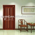 Exterior wood painting door