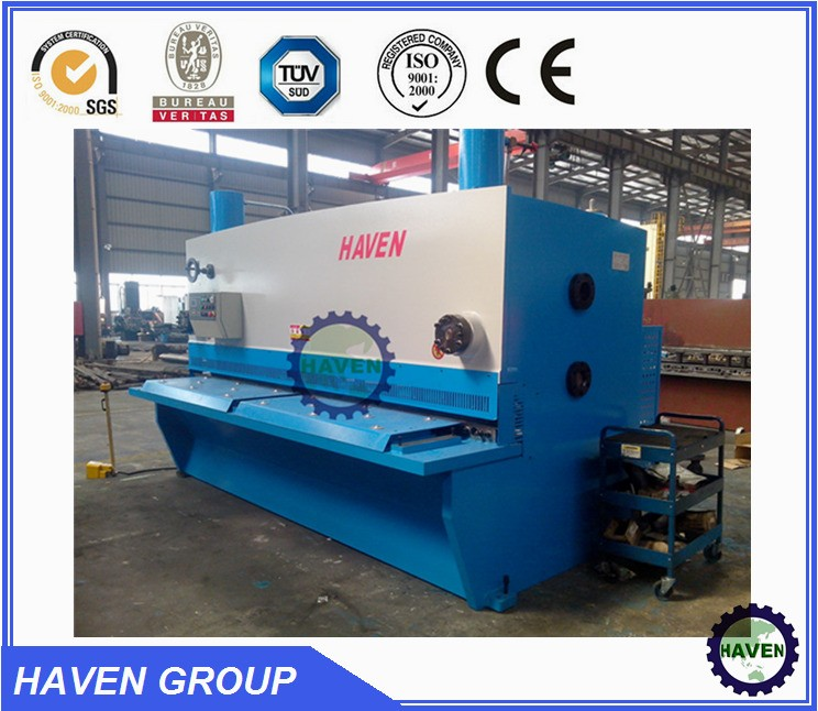 CNC Swing Beam metal shearing machine QC12K