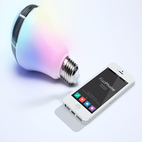 2016 magic color changing led wifi light bulb with music
