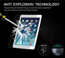 "9H 2.5D 0.3MM Toughened Tempered Glass For Apple iPad 5/6 Air 1/2 9.7"" Explosion-Proof Tablet PC Film Clear Screen Protect Cover"
