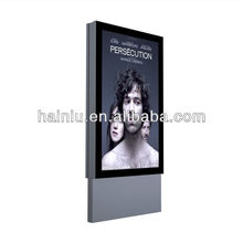 Outdoor scrolling city light box,scrolling mupi outdoor,single sided wall mounted scrolling light box