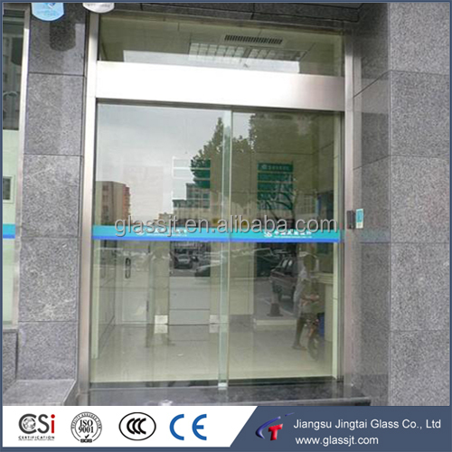 Tempered Laminated Glass Decorative Sliding Door with CSI/CCC/ISO9001