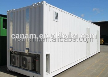 40ft high cube container bamboo house building