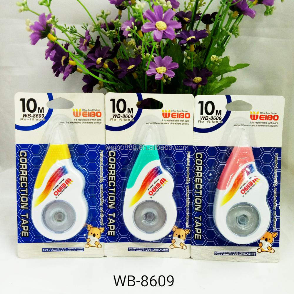 WB8609/WB8609B/WB8609C Re-fillable Correction Tape