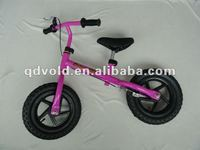 new design red high quality balance running bicycle
