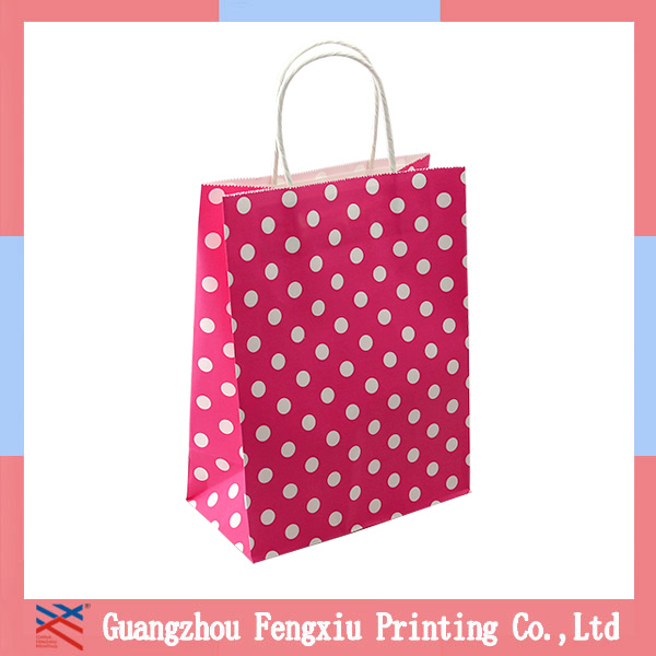 Good Price Hot Selling Fancy Colorful Strawberry Gift Paper Bag