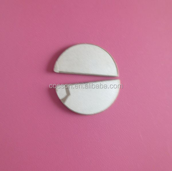 MHZ Half Moon piezo discs for doppler fetal monitor
