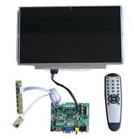 HDMI+VGA +AV +Audio LCD controller board + 13.3 inch LCD panel +LVDS cable +Remote control +OSD keypad with cable