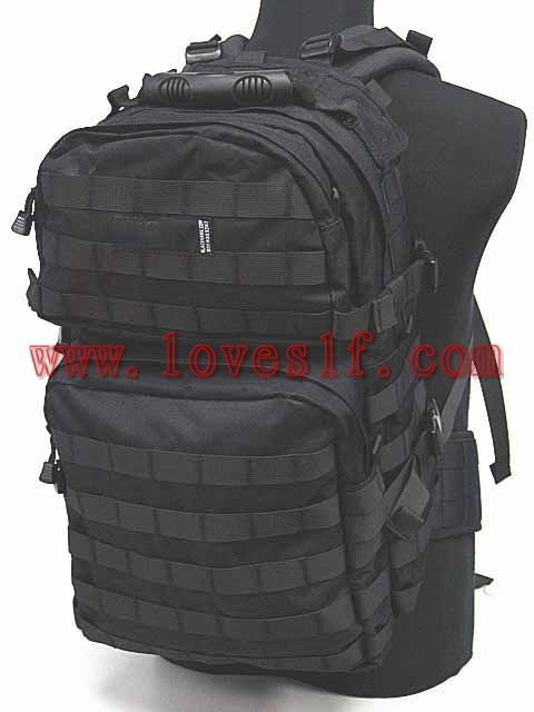 Wholesale Outdoor Black assault attack backpack, CS package tour riding 45L Backpack, military backpack tactical backpack