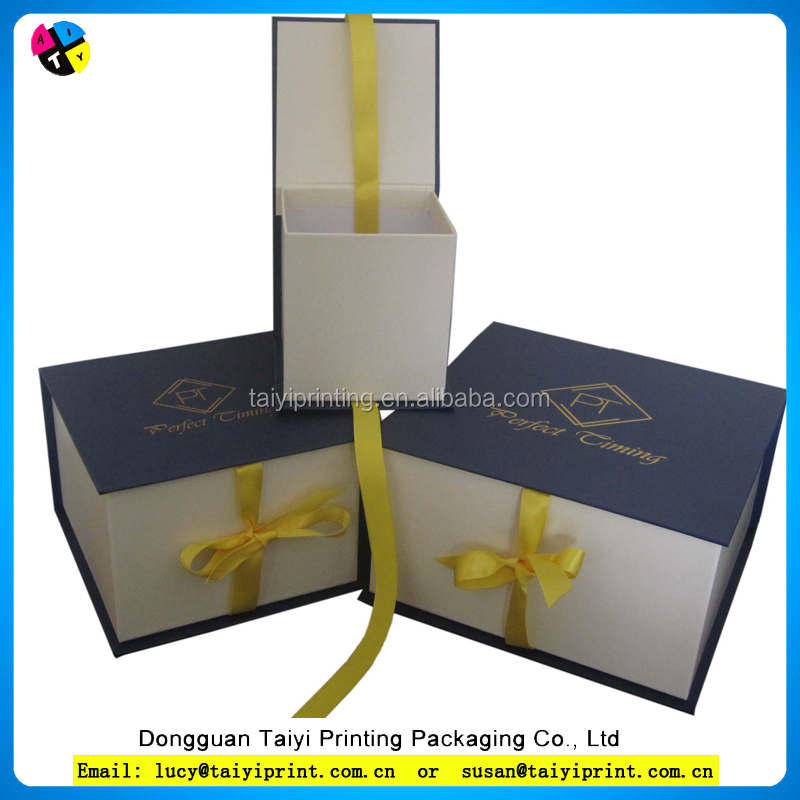 custom printed paper gift box/gift paper box/recycled paper box