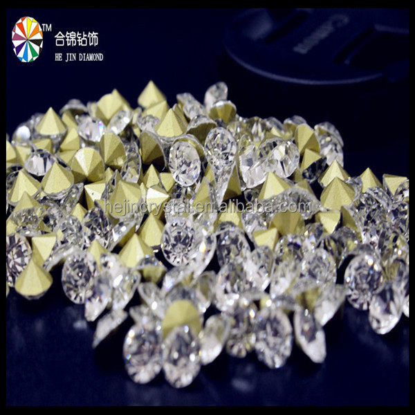 Pointback Crystal jewelry Rhinestone/Crystal stone Same as 888 chatons quality