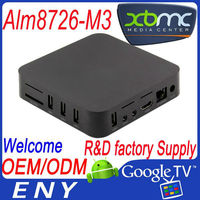 2014 Wholesales android 4.0 amlogic cortex-a9 aml8726-m3 supports xbmc EM3