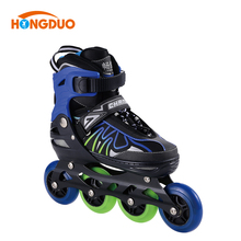 Protective detachable inline skates professional rubber wheel