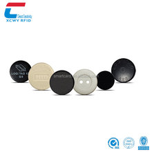 Custom size UHF Passive Long Range Coin Button RFID Laundry Tag