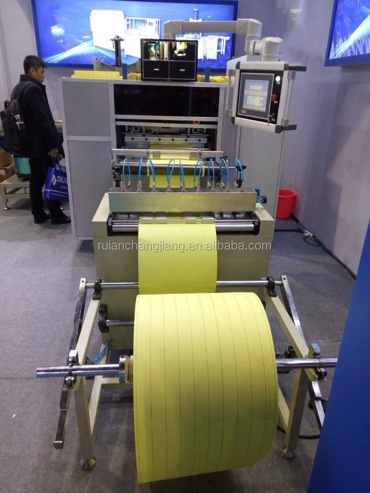 Automatic Air Filter Knife Pleating Machine Of Filter Manufacturing Equipment