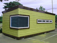 efficient Widelyuse modern in bright prefabricated movable container bar house