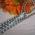 2.4mm Shiny Silver Bead Jewelry Chain
