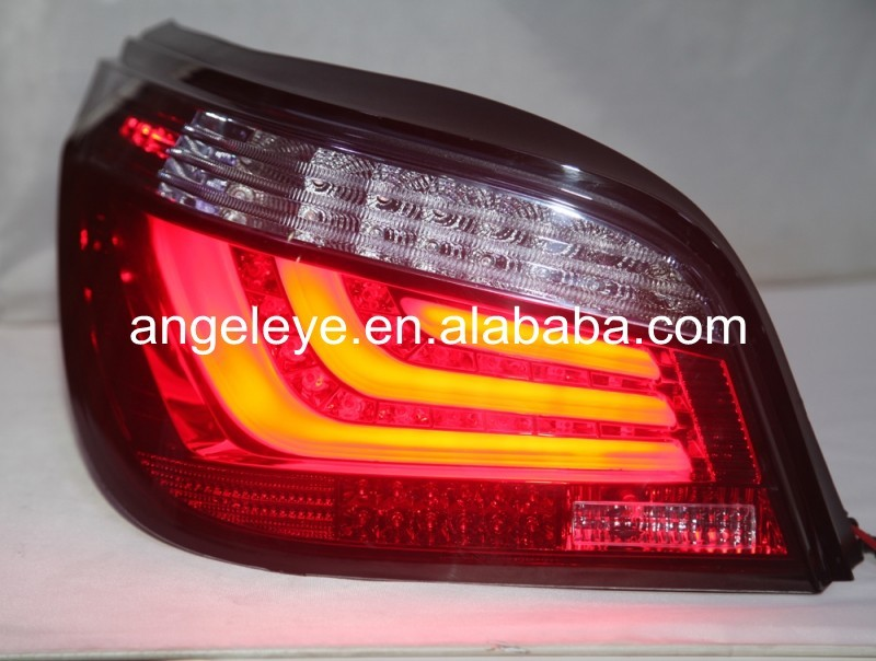 For BMW E60 Strip Tail Lamp 2003 to 2009 year Red Black Color