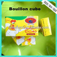 Chicken, Onion, Shrimp and Beef Bouillon Cube