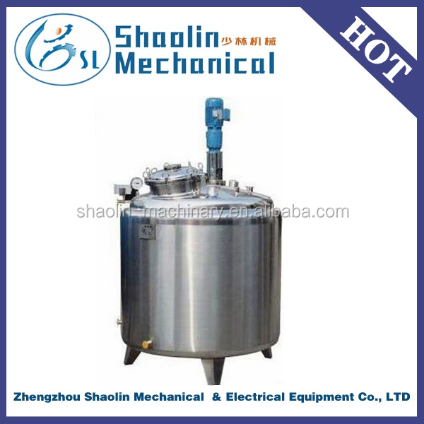 Bulk discount Stainless Steel liquid mixing tank with mixer / agitator / stirrer / blender / homogenizer with best quality