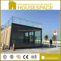 Mobile Movable small fireproof prefab shop for Sale