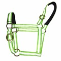 Reflective Light Up Nylon Horse Halter With Warm Foam Padded