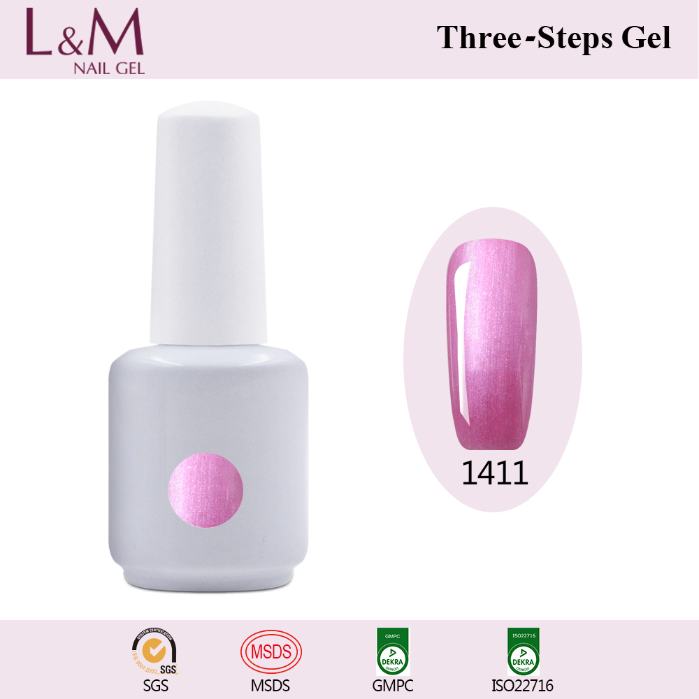 China Factory 15ml UV&LED Glue Nail Polish Top and Base Coat