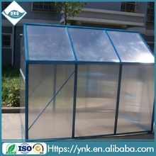 Direct factory selling metal frame used commercial greenhouses for garden