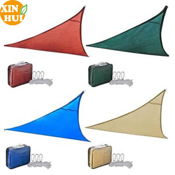 Factory Supply 5 x 5 x 5m Outdoor Triangle Sun Shade Sail