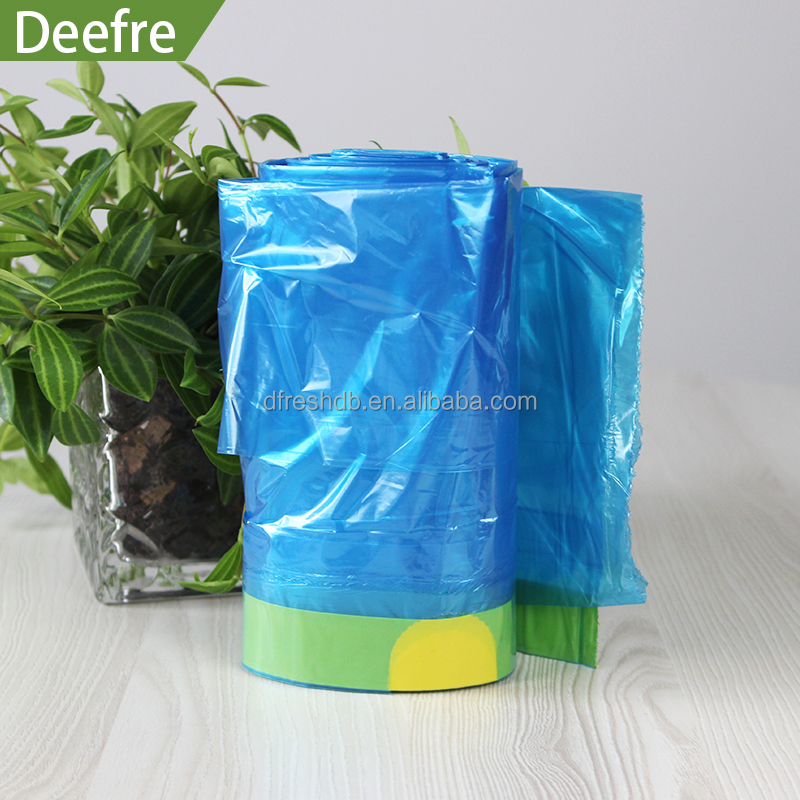 High quality cheap garbage Draw String bags