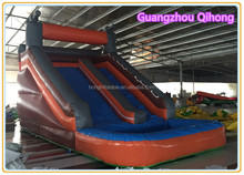 Inflatable slip and slide, jumping castles inflatable water slide, inflatable small pool water slide