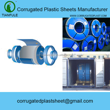 PP / PE Corrugated Plastic Sheets Rolls For Coil Cable