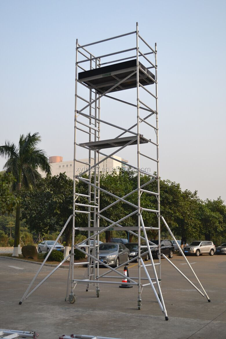 3m to 12m aluminum scaffolding mobile working tower buy for Decking boards 6m long